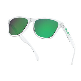 Oakley Frogskins XS Sunglasses Youth polished clear/prizm jade